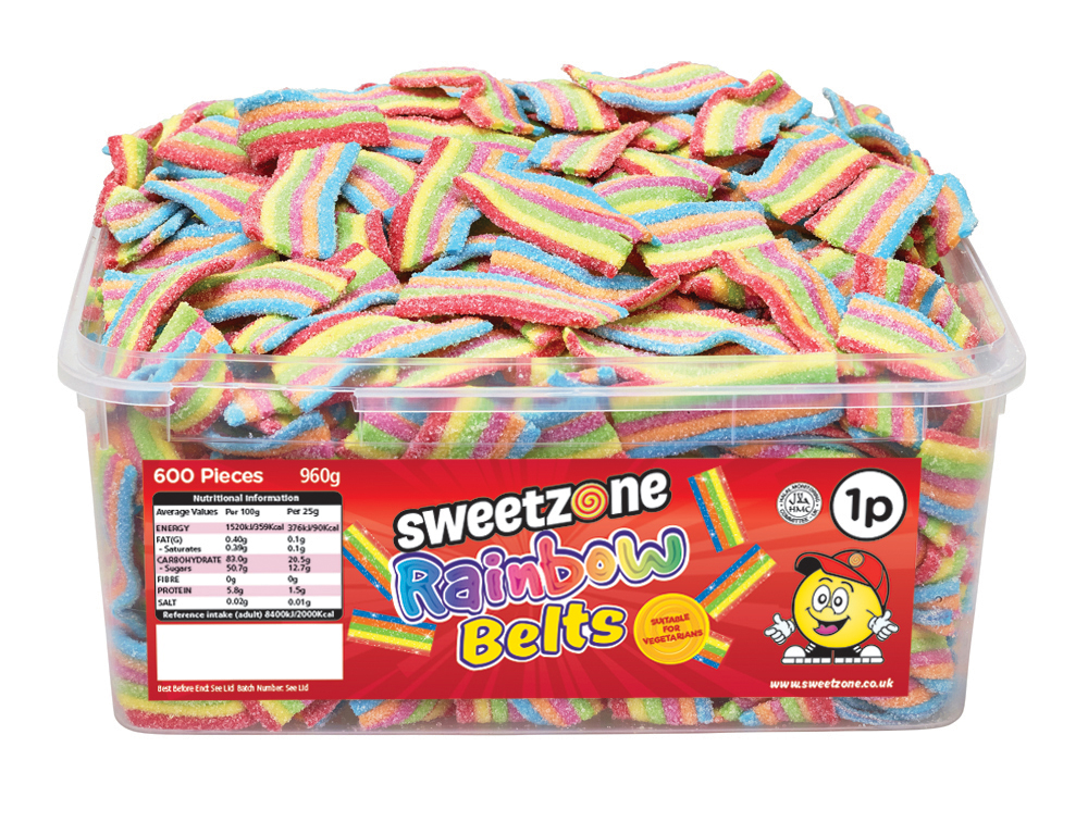 Sweetzone 1p Rainbow Belts
