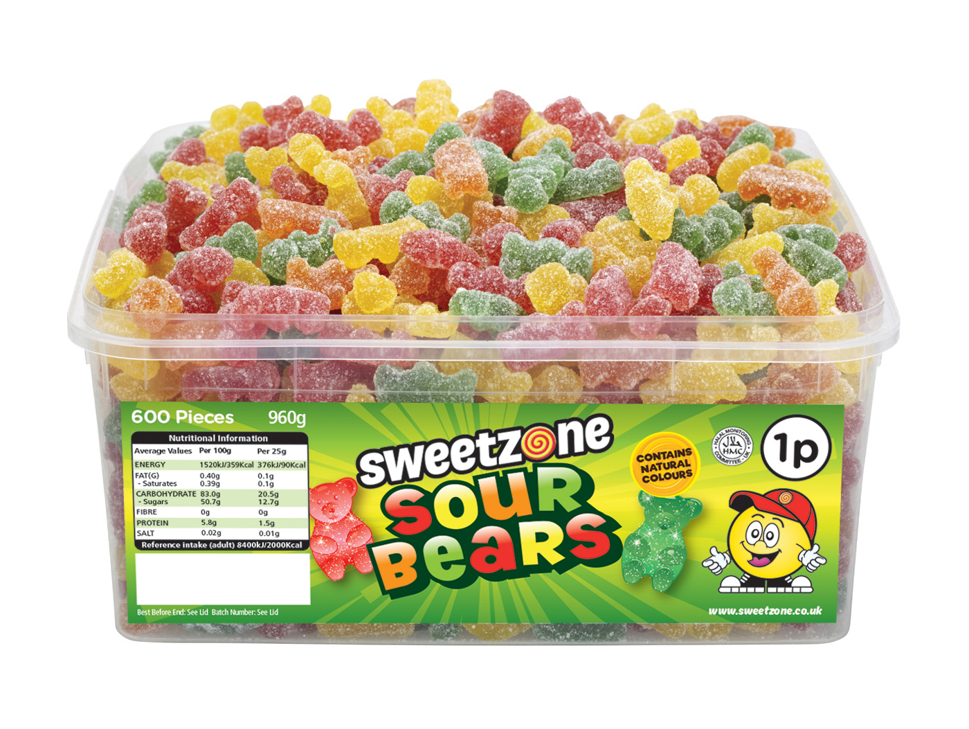 Sweetzone 1p Sour Bears