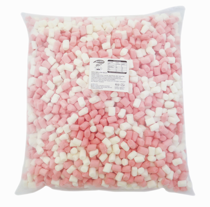Mini Mallows 1Kg Bags