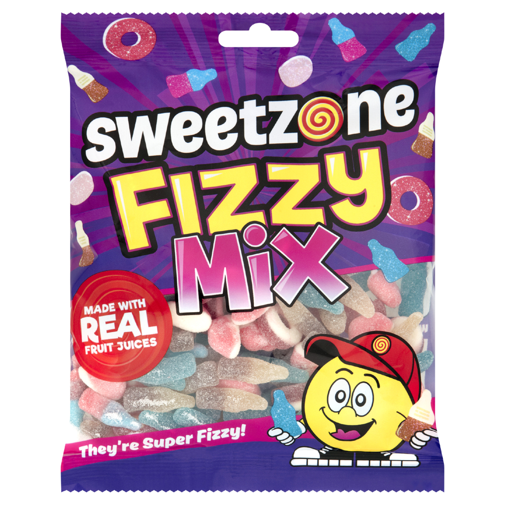 Fizzy Mix 200g Bags Sweetzone